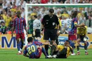 UEFA Champions League Final 2006 - Stade de France - Saint-Denis, Paris, France - FC Barcelona A