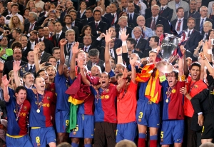 UEFA Champions League Final 2009 - Stadio Olimpico, Rome, Italy - FC Barcelona