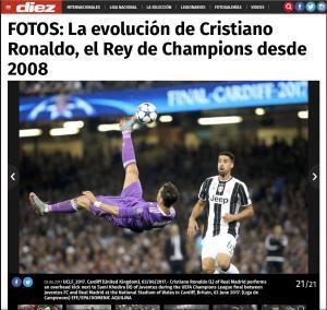 Diez Cristiano RonaldoPRINT