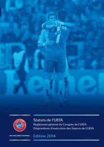 Statuts de l'UEFA UEFA Fair Play Reg 2014